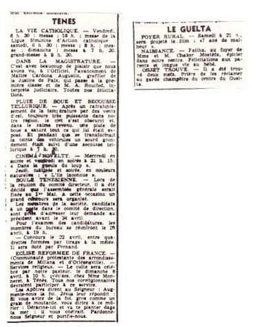 6 Avril 1958