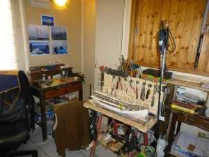 le 1er atelier de Georges CERVERA