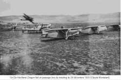 "1933 - ORLEANSVILLE Meeting DE HAVILLAND ""Dragon"""
