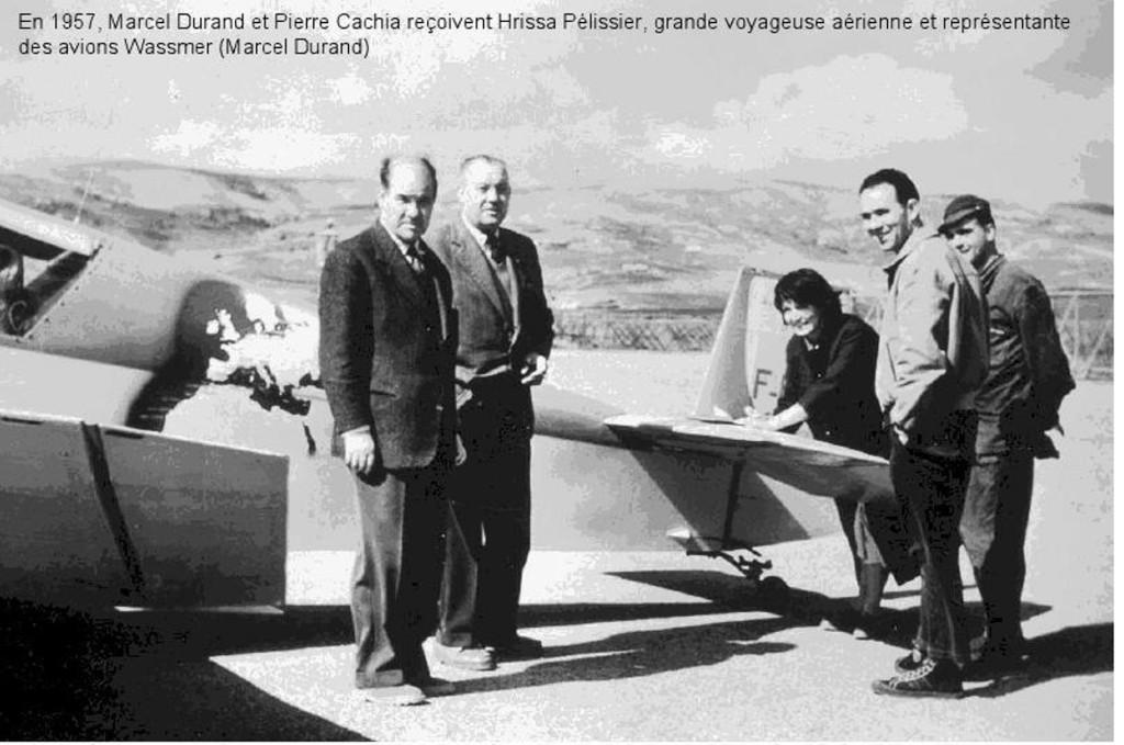 1957 - ORLEANSVILLE Marcel DURAND Pierre CACHIA Hrissa PELISSIER