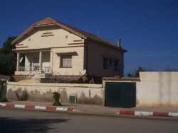 Derni�re Maison de la Famille CAMILLERI (en location) habit�e de 1960 � 1962 avant l'Exode