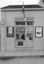 1955 L'Agence W�ry rue Oudinot