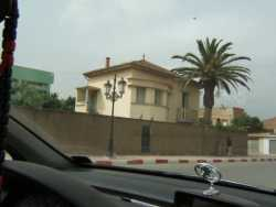 Maison DI MEGLIO ---- Photo prise de la route de Cherchell � hauteur de chez TELLA