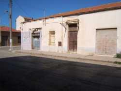 Rue Georges Cl�menceau (rue du Centre) Maison de DAIKRA au fond, � gauche : la Boulangerie d'Andr� GARCIA