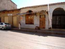 Rue Georges Cl�menceau  (Rue du Centre) � gauche : Papeterie BENA� M. au centre : magasin MEYLHAC