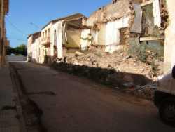 """Rue Leblond Maison de """"Haouch ESPI"""" en ruines ---- C'est l� qu'habitait la famille Athmane El Akeb"""