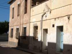 Angle rue Leblond et route de l'h�pital  ---- la Maison du coin est celle de la Famille LAFAGE actuellement habit�e par la famille BAGHDALI