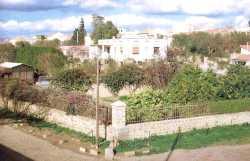"""Jardin du juge PROST puis le Bt des Ponts et Chauss�es Ouest ---- C'est lors de la construction de la maison voy�re """" Ponts & chauss�es"""" que le Tr�sor de T�n�s fut d�couvert un certain 16 Mars 1936"""