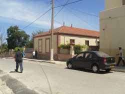 """La villa """"Gabrielle"""" qui abritait la famille VAUGIEN et la rue devant la Manutention"""