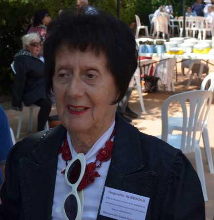 Huguette ALBEROLA Epouse CHIADORLA ----