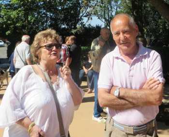 Charlette AMBROSINO-BOUDON et Francis LOPEZ  ---- 30-MONTCLAUSON ---- Dimanche ----  Famille AMBROSINO