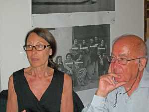 Luce MEYSONNAT et son mari Christian FORGERIT