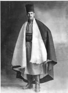 Paul BANON  durant son service militaire au MAROC
