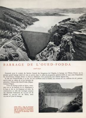 Highlight for Album: Le Barrage d'Oued Fodda