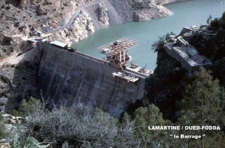 LAMARTINE / OUED-FODDA Le Barrage