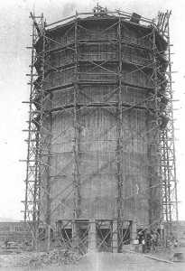 1927 ---- La construction du DOCK au port par l'Entreprise BERGONZOLI