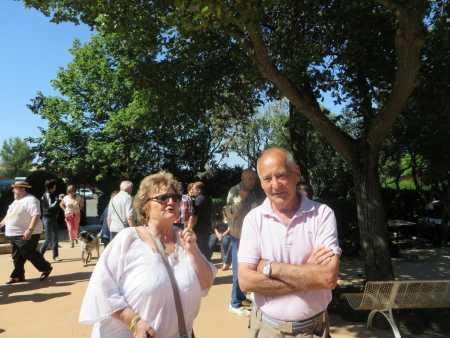 Charlette AMBROSINO-BOUDON et son mari Francis LOPEZ