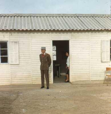 Sous Lieutenant BOUCHALIER Chef de la SAS de Bordj Baach