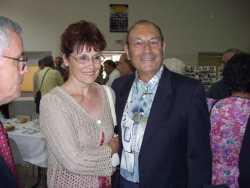 TOURBES 2007 ---- Jean Paul CAMILLERI  et sa compagne France BOULAY