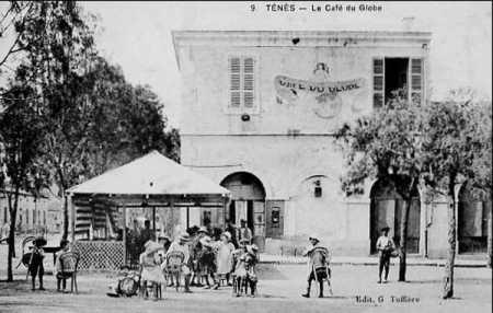 TENES - CAFE DU GLOBE tenu par Mr et Mme CANO