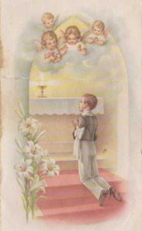16 Juin 1957 - Antoine CUCINIELLO Communion Solennelle