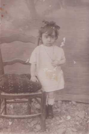 Jeanne CHAFFORT ... petite fille
