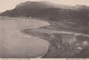 Carte Postale La Douane La plage L'oued Alalla