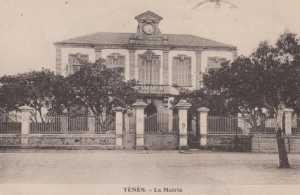 Carte postale de l'ancienne MAIRIE en 1937