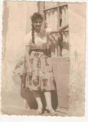 Marcelle CAUMARTIN 14 ans - rue Leblond