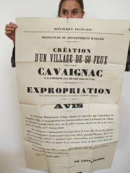 Highlight for Album: Fondation de CAVAIGNAC en 1879