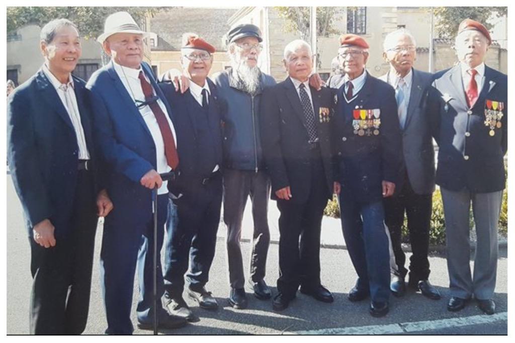 Les anciens survivants du Commando DAM-SAN