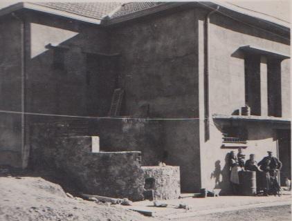 CHASSERIAU - 1955 La maison de Paul et Jeanne CARTEAUX presque finie