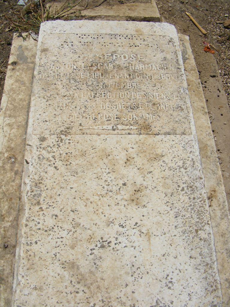 Gaston LASCAR fils de Joseh Lascar  et d'Emilie SEROR