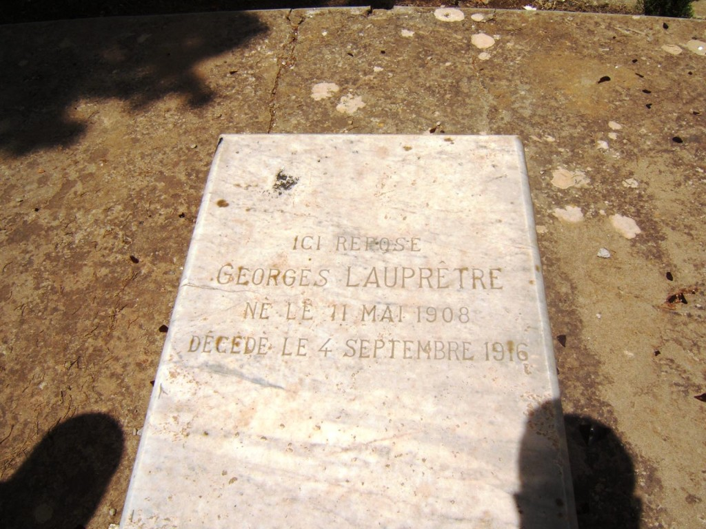Georges LAUPRETRE 1908 - 1916