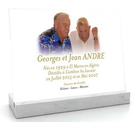 Souvenir de Georges et Jean ANDRE