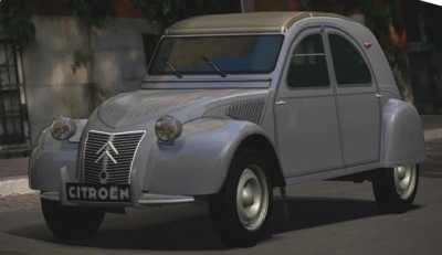 2 cv CITROEN - 1949