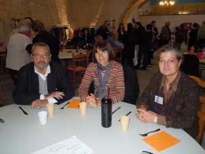LA VIERE 2012 ---- Claude SORBA Martine MARTINEZ Evelyne BANON