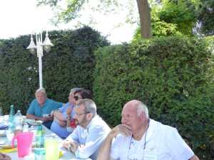 LA VIERE 2014 ---- Marc RODRIGUEZ (famille GAYS) Jean PASSELERGUE (famille GAYS) Annie-Claude FICHET Claude SORBA (famille GAYS) Albert GUYET