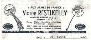 CHASSE ET PECHE RESTIKELLY