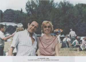 la DEVEZE en 1982 Claude NISPOLA et Lucienne COUTURIER