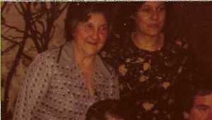 Yvonne ORS Epouse de Charles XICLUNA  au centenaire de Tata Marie
