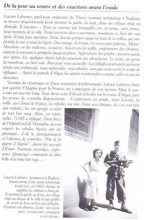 BOGHARI en 1960 Lucien LUBRANO monte la garde territoriale au Ksar