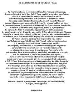 La Cabasette et le Coufin par Robert VOIRIN