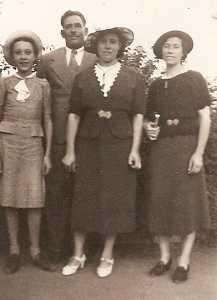 1937 Lucienne Di MEGLIO Lucien ALBENTOSA Henriette ALBENTOSA Antoinette BANOS