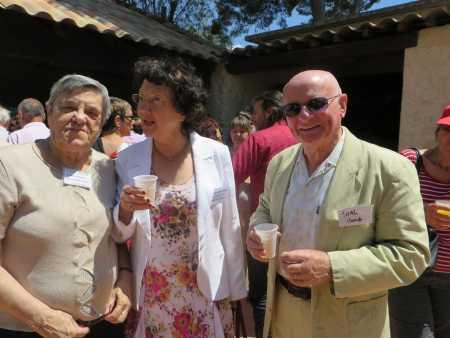 Francine XICLUNA Marie-Jeanne BADO Claude TUAL