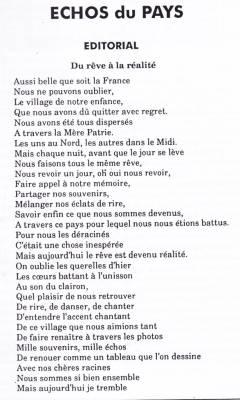 Highlight for Album: L'Echo du Pays  Avril 1995
