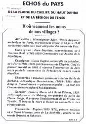 Highlight for Album: Echo du Pays N°3 - Octobre 1993