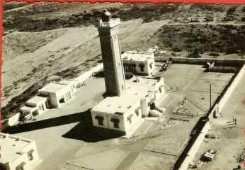 EL MARSA - 1960 Le Phare de Colombi ---- Louis ARNAUD ... dernier Gardien