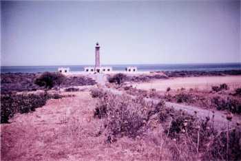 Le phare de Colombi en 1959