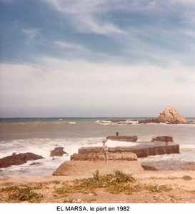 EL MARSA  Le Port en 1982